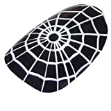 Chix Nails Nail Wraps Black White Spiders Web Spider Gothic Halloween Fingers Toes Vinyl Foils Minx Trendy Style