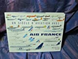 img - for Un si cle d'aviation avec Air France ( dition bilingue fran ais-anglais) (French Edition) book / textbook / text book