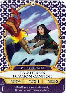 Sorcerers Mask of the Magic Kingdom Game, Walt Disney World - Card #06 - Fa Mulan's Dragon Cannon
