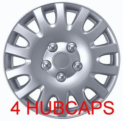 16″ SET OF 4 TOYOTA CAMRY HUBCAPS WHEEL COVERS DESIGN ARE UNIVERSAL HUB CAPS FIT MOST 16 INCH WHEELS