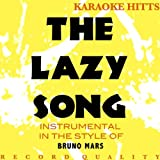 The Lazy Song (Bruno Mars &quot;The Lazy Song&quot; Tribute) [Instrumental/Karaoke] - Single