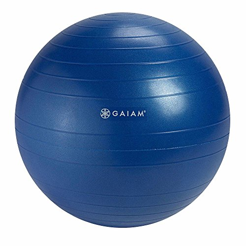 Gaiam Balance Ball Chair Replacement Ball, Blue, 52cm