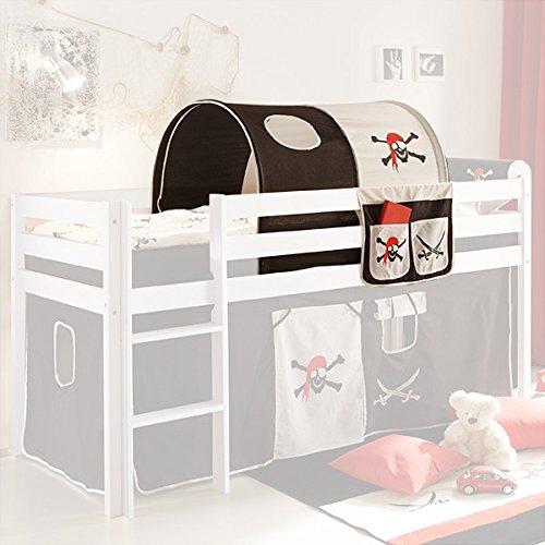 tunnel bett tasche pirat 100 baumwolle stofftasche. Black Bedroom Furniture Sets. Home Design Ideas