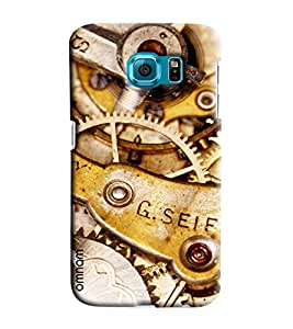 Omnam Clock Machinery Printed Designer Back Cover Case For Samsung Galaxy S7