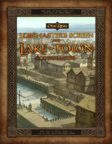 Loremaster's Screen and Lake-Town Sourcebook [With Gameboard] (One Ring)
