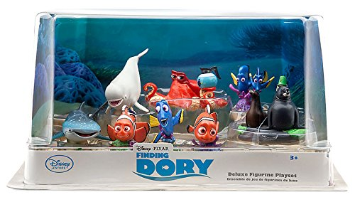 Disney / Pixar Finding Dory Finding Dory Deluxe Exclusive PVC Figure Set