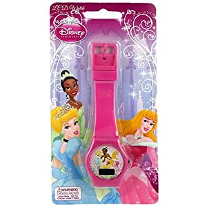 Disney Princesses LCD Watch (pink) Novelty