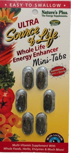Ultra Source Of Life Mini-Tabs - 60 Mini-Tabs On Blister Cards