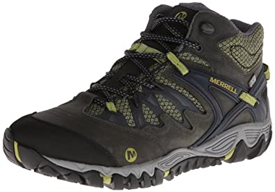 Merrell Mens Allout Blaze Mid Waterproof Hiking Shoe by Merrell
