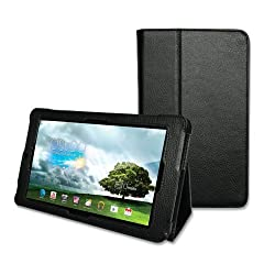 KaysCase FlipStand Cover Case for Asus MeMo Pad 7 inch ME172V Tablet (Black)