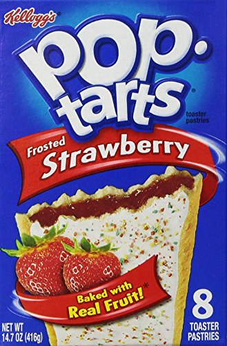 pop tarts strawberry frosted 8 ct 14 7 oz 038000317101 by pop tarts ...