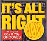 VARIOUS ARTISTS READERS DIGEST IT'S ALL RIGHT NOW 60s & 70s GROOVES (5 CD BOXSET) 89 ORIGINAL TRACKS