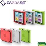 CAPDASE iPod nano 6th Generation Soft Jacket2 XPOSE, Clear Green/Red/White 3Pcs Set 「iPod nano 第6世代 専用 ソフトジャケット2 XPOSE (ソフトジャケット3個セット+クリスタル・クリアー 液晶保護シート 1枚 付き)」 クリアーグリーン・レッド・ホワイト SJIPN6-P2M6