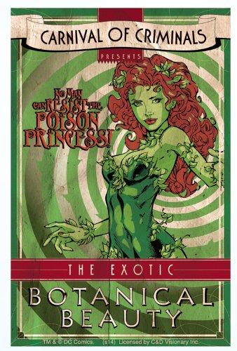 Licenses Products S-DC-0083 DC Comics Batman Poison lvy Sticker