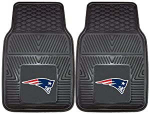 FANMATS NFL New England Patriots Vinyl Heavy Duty Vinyl Car Mat by Fanmats
