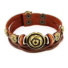 buy New November'S Chopin (Tm) Unique Rose Bronze Star Charm Adjustable Wrap Bracelet ...