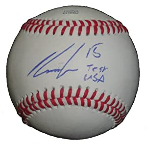 Robbie Grossman Autographed Signed ROLB Baseball Featuring Team USA Inscription,... by Southwestconnection-Memorabilia