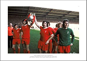 Liverpool Fc Photo - 1973 League Champions Team Picture Memorabilia