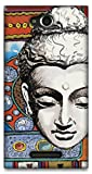 The Racoon Lean Buddhist Tapestry hard plastic printed back case / cover for Sony Xperia C