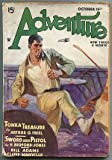 img - for [Pulp magazine]: Adventure -- October 15, 1934, Volume 89, Number 6 book / textbook / text book