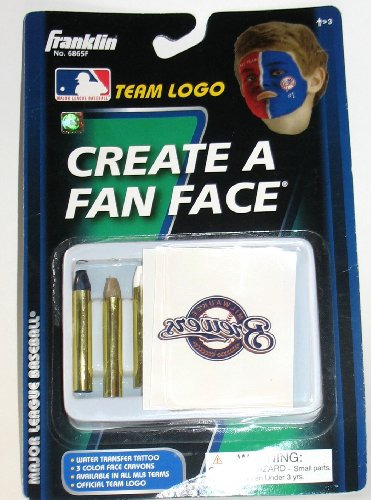 Milwaukee Brewers MLB Create a Fan Face Tattoos and Face Crayons at Amazon.com