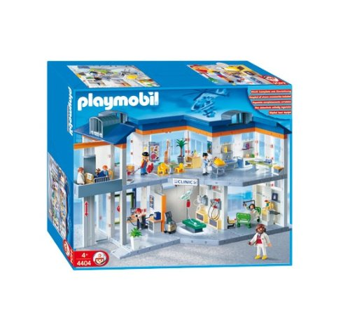 playmobil hospital. Black Bedroom Furniture Sets. Home Design Ideas