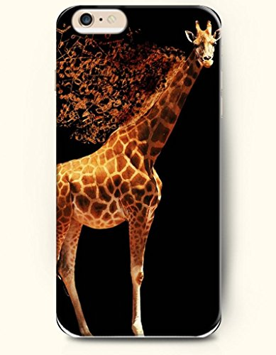 Iphone 6 Plus Case 5.5 Inches Standing Giraffe - Hard Back Plastic Case Oofit Authentic front-638511