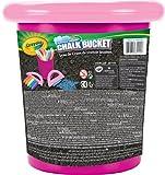 Crayola 03-5104-E-110 - Cubo de tizas de exterior, color rosa