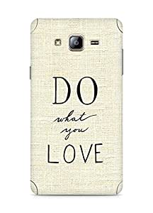 AMEZ do what you love Back Cover For Samsung Galaxy ON5