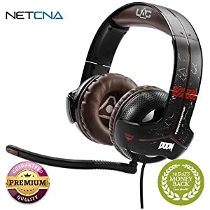 Y-300CPX DOOM Edition Gaming Headset Y-300CPX DOOM Edition Gaming Headset With Free 6 Feet NETCNA HDMI Cable - BY NETCNA