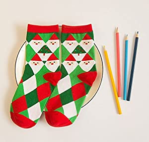 Festive Design Novelty Adults Christmas Socks