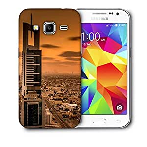 Snoogg Soul Of The City Printed Protective Phone Back Case Cover For Samsung Galaxy Core Plus G3500