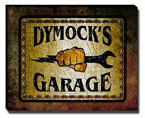 dymocks-garage-stretched-canvas-print