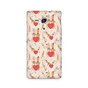 Ebby Love Pins Premium Printed Case For Sony Xperia SP M35H