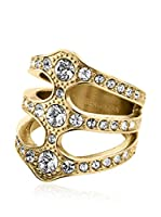 Dyrberg/Kern Anillo Robinia I Sg Crystal (Dorado)