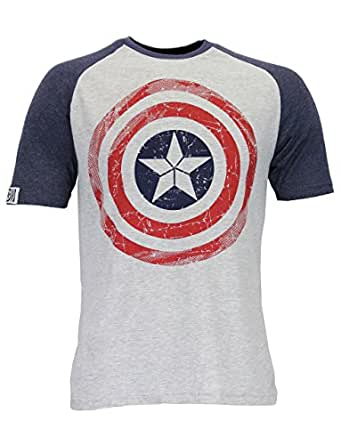 Marvel Avengers Mens' Captain America T-Shirt