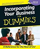 img - for Incorporating Your Business For Dummies by The Company Corporation Published by For Dummies 1st (first) edition (2001) Paperback book / textbook / text book