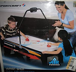 SportCraft Air Powered Hockey Turbo 54 inch Table with Overhead Scoring