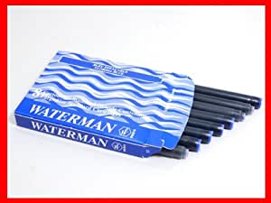 WATERMAN ウォーターマン 万年筆用 カートリッジインク フロリダブルー
