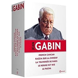 Jean Gabin - French Cancan + Razzia sur la chnouf + La traversée de Paris + Le rouge est mis + Le p