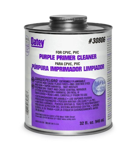 Oatey 30768 Purple Primer/Cleaner, Gallon