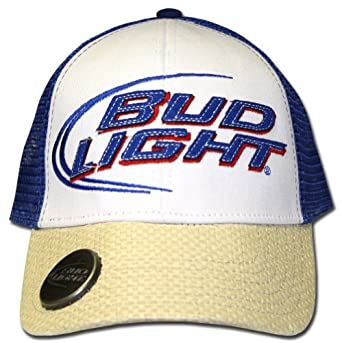 Busch Light beer hat Trucker Hat Mesh Hat new Red white blue