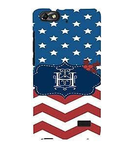 EPICCASE Letter H Mobile Back Case Cover For Huawei Honor 4C (Designer Case)