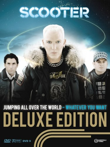 Scooter - Jumping All Over the World-Whatever You Want - Limited Deluxe Edition (2CD + 2DVD + T-Shirt + Autogrammkarte) - Zortam Music