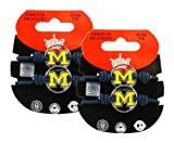 Michigan Wolverines - NCAA Stretch Bracelets / Hair Ties (2-Pack) at Amazon.com