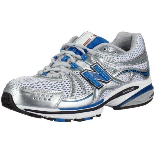 New Balance Men's MR769 NBx Stability Running Shoe,Silver/Blue,12.5 D