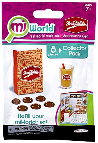 miWorld Mall Mrs Fields Accessory Set Collector's Pack - Cookies and Chiller - 1