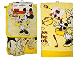 Disney Minnie Kiss the Cook 4 Piece Kitchen Set