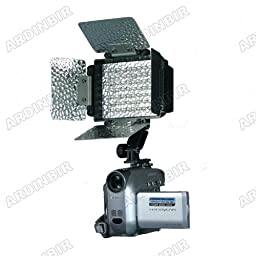 LED Video Light Lite for Canon VIXIA XH-A1, A1S, G1, XL-1S, XL1, XL2, XL-H1, GL2, GL1, XM2, XM1, FS300, FS200, FS100, FS10, FS22, FS11, FS21, DC20, DC50, DC40, DC22