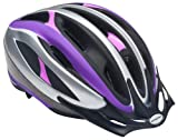 Schwinn Youth Girls Intercept Helmet, Purple/Pink